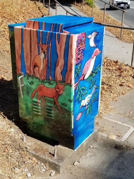 San Bruno Utility Box installed 2